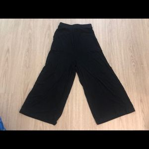 LAST CHANCE Free People Wide-leg Cropped Culottes